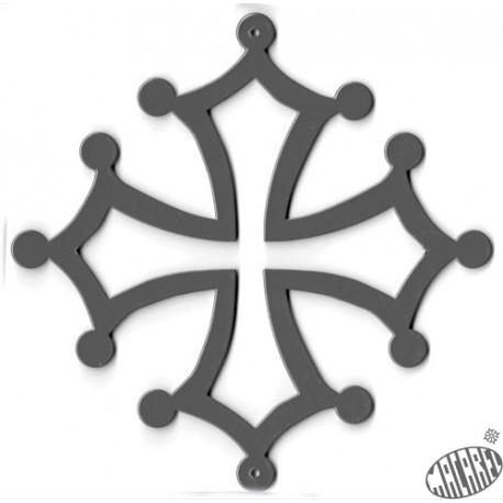 croix fer thermo-laquée 40cm