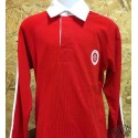 Polo rugby enfant rouge  occitan Made in aqui