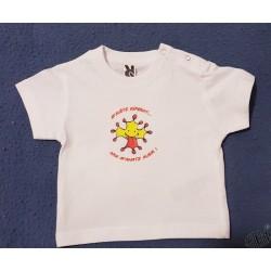 T-shirt bébé en occitan M'anatz ausir