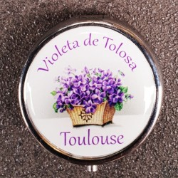 Miroir de poche Violeta de Tolosa
