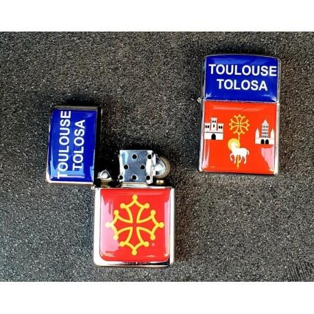 briquet tempête blason Toulouse