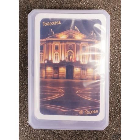Jeu de 32 cartes avec Capitole la nuit