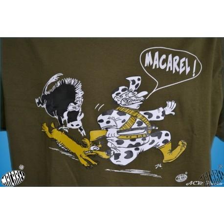 T-shirt Homme Chasse Kaki