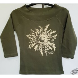 T-shirt Femme occitan Cardabèla manches 3/4