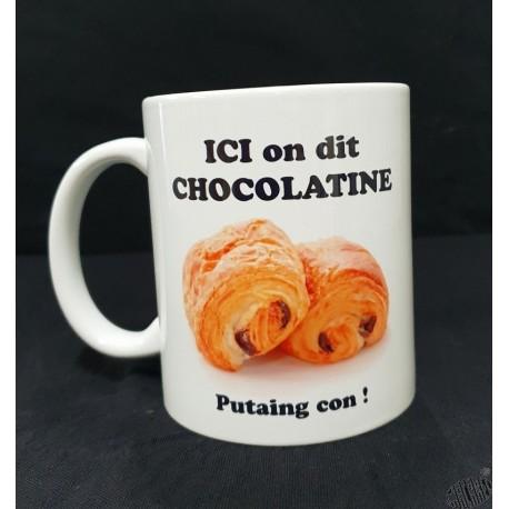 Mug blanc Chocolatine