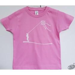 T-shirt enfant cerf volant croix occitane