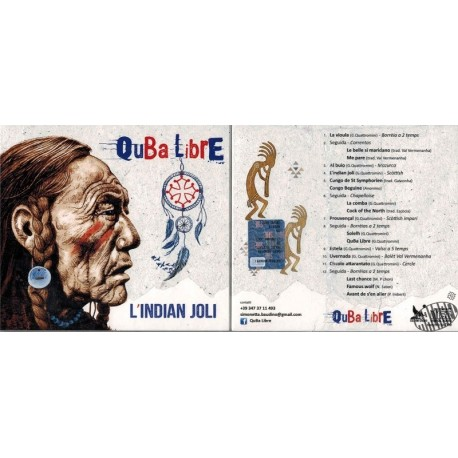 "Cd ""L'Indian joli"" de Quba Libre"