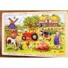 Puzzle bois 24 pièces La ferme en occitan