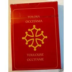 Jeu 54 cartes avec 54 vues Toulouse et région Occitanie