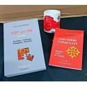 Lot dictionnaire Tot en Un + Los Vèrbs conjugats + Mug Carte