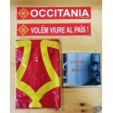 Lot CD Claude Marti +drapeau occitan + 2 auto-collants