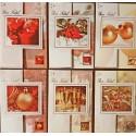 Assortiment 6 cartes Bon Nadal (Joyeux Noël en occitan)