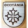 déco bois blason croix occitane et Occitània