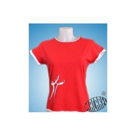 Tshirt femme croix occitane Féria