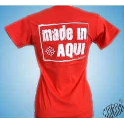 T-shirt Femme Made in aqui