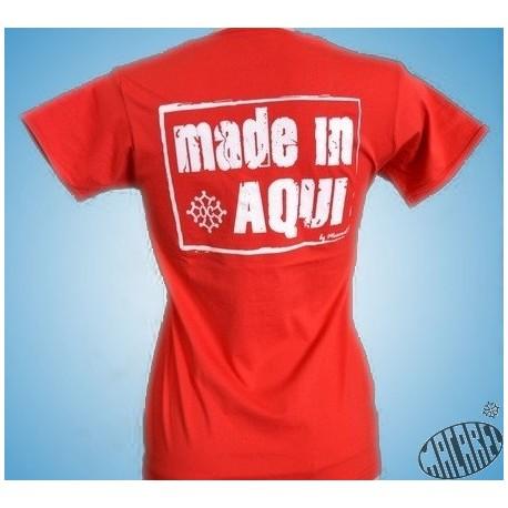 T-shirt Femme Made in aqui