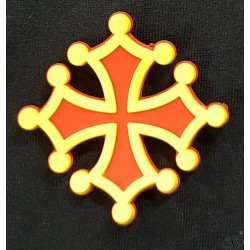 magnet PVC croix occitane
