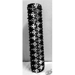 Bracelet réglable croix occitane acier inoxydable