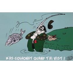 carte humoristique en occitan M'as colhonat