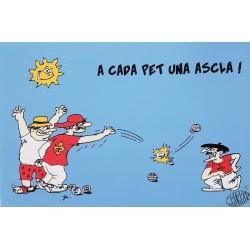carte humour en occitan Pétanque