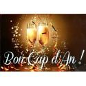 carte  anniversaire en occitan  Bon cap d'an blanquette