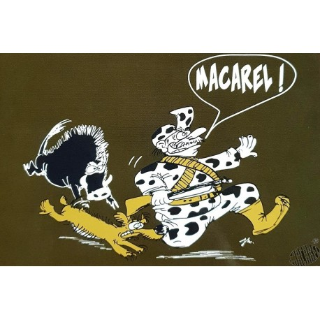 carte humour occitan Macarel chasse