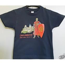 Tshirt enfant Chevalier Carcassona