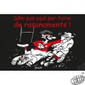 lot 10 cartes humour occitan Rugby Sèm pas aqui per faire de rasonaments
