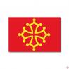 lot 10 cartes drapeau occitan