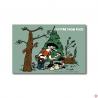 lot 10 cartes humour occitan slow food champignons