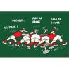 lot 50 cartes humour occitan rugby La mêlée