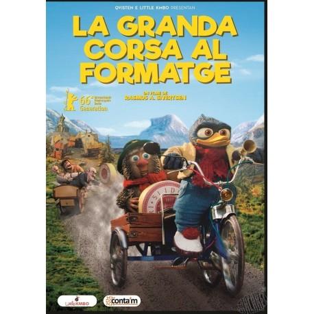 dvd La granda corsa al formatge