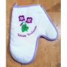 lot 6 gants de cuisine violettes de Toulouse