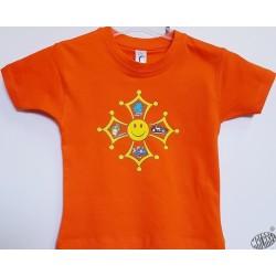 T-shirt enfant en occitan Aimi ma planèta