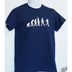 T-shirt Homme humour occitan Evolution Foot