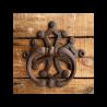 Lot 4 heurtoirs de porte fonte croix occitane