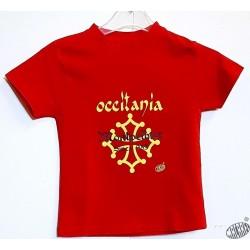 T-shirt Enfant Occitània Montpelhièr