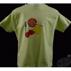 T-shirt enfant Decas ( en occitan : taches )