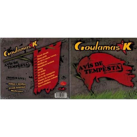 "CD ""Avis de tempèsta"" de Goulamas'k"