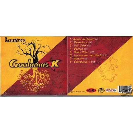"CD ""Resisténcia"" de Goulamas'k"