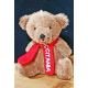 Porte-clés ourson avec écharpe Occitània