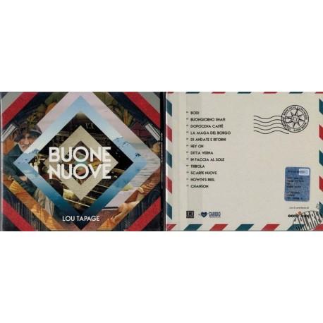 """CD de Lou Tapage """" Buone nuove"""""""