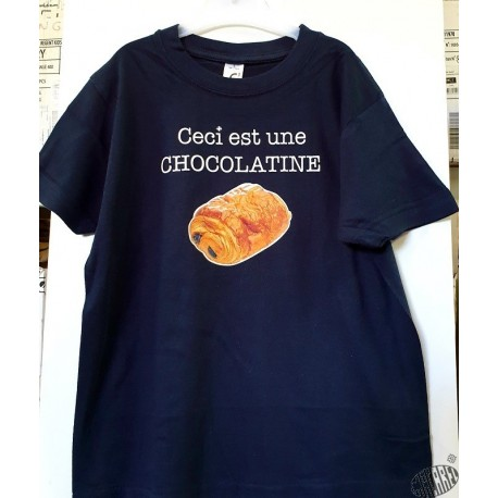T-shirt Enfant Chocolatine
