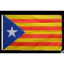 Drapeau catalan indépendantiste L'estelada- 90x150