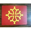 Tapis de souris croix occitane