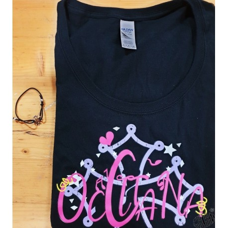 Lot t-shirt Femme Occitana et bracelet réglable croix occitane