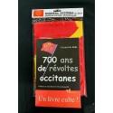 Lot Livre 700 ans de révoltes occitanes et drapeau occitan 70x100