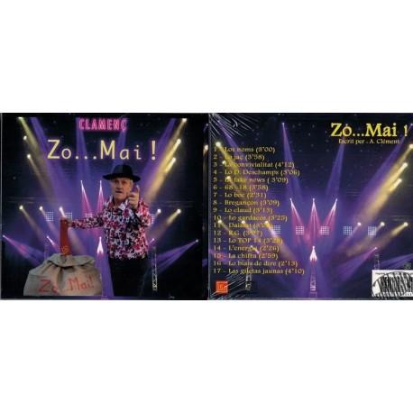 """CD humour occitan """"Zo...mai !"""" de Clamenç"""