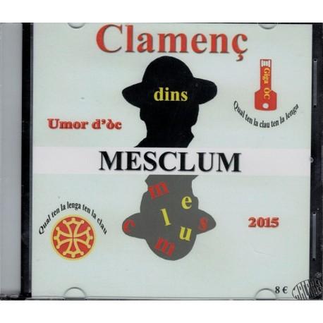 """CD Humour occitan """"Mesclum"""" de Clamenç"""
