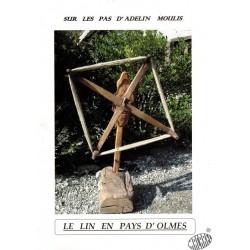 """Livre """" Le lin en Pays d'Olmes"""""""